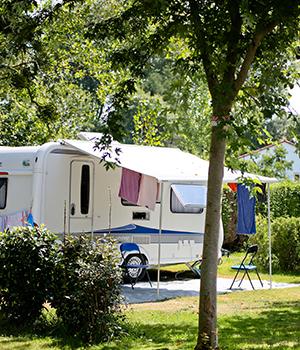 camping pour caravaning dans l'aude