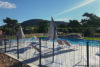 camping area swimming aude